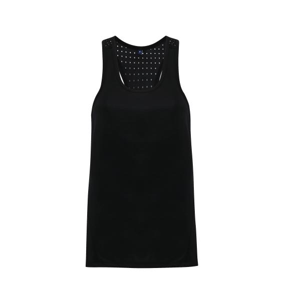 td laser ladies vest black