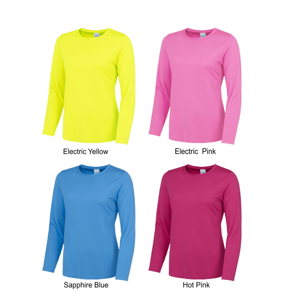 long sleeve ladies colours 1