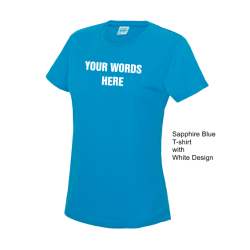 Custom running ladies t-shirts