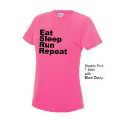 Ladies Running T-shirts & Vests