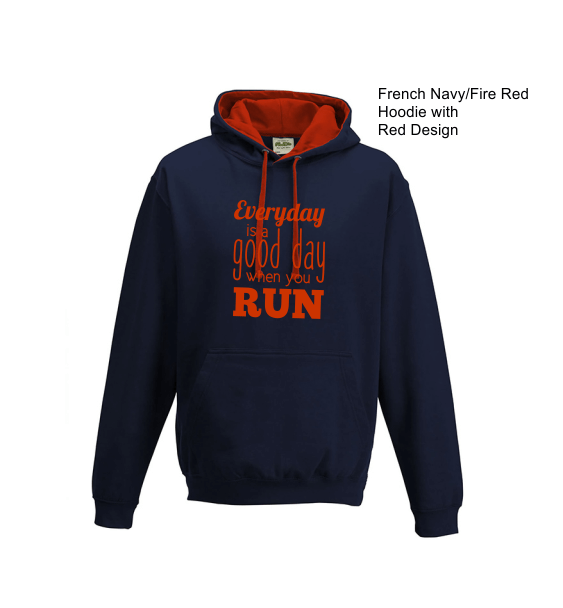 everyday good day hoodie french navy