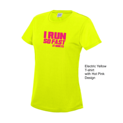 I run so fast it hurts