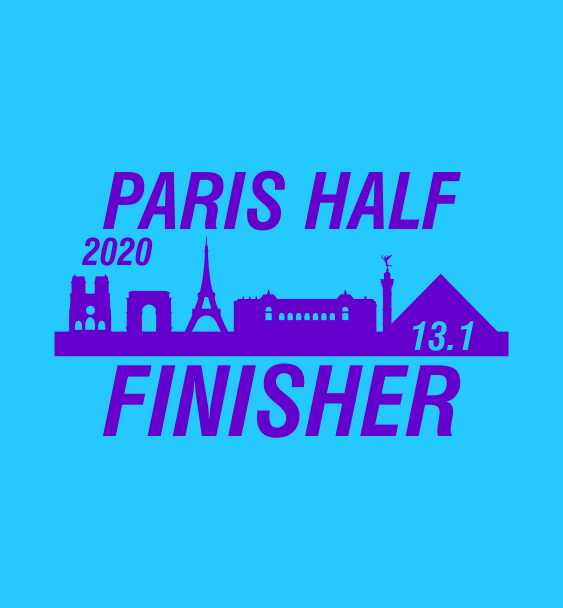 Paris half finisher
