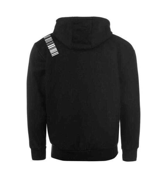 WMN hoodies black back