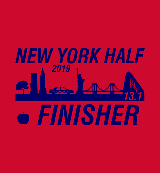 New York finisher half