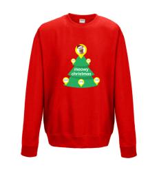 Meowy Christmas Sweatshirt