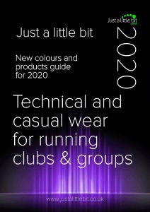 running catalogue