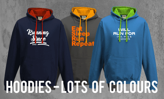 custom hoodies running