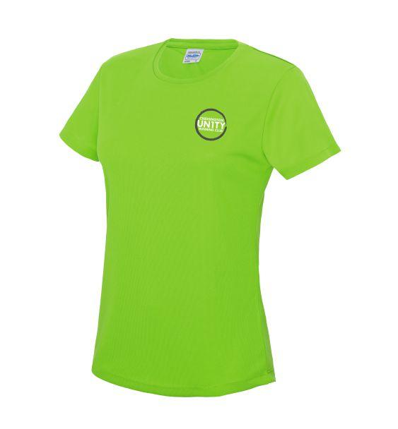 chessington tshirt egreen front