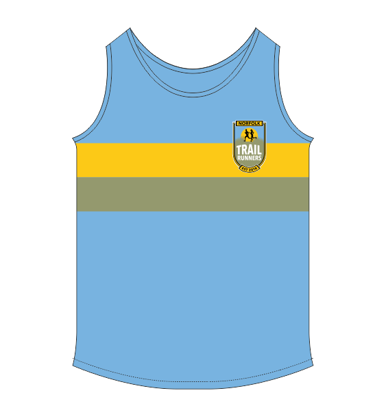 Norfolk Trail Runners vest front