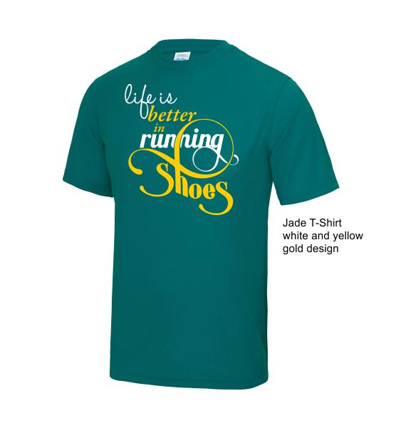 life-is-better-running-jade-tshirt