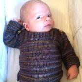 another ysolda knit - Wee Envelope in Malabrigo Arroyo
