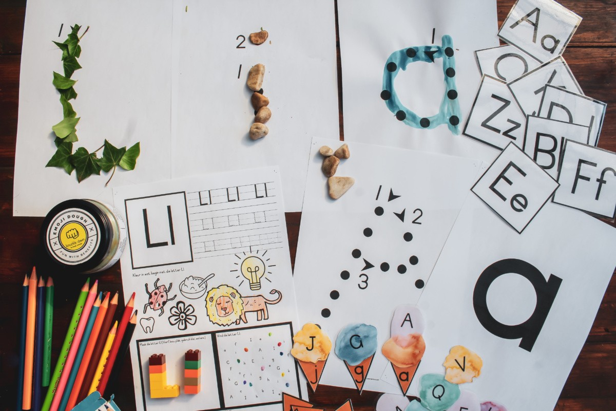 Free Letter Recognition Worksheets A Z And Alphabet Flash