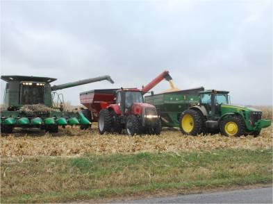 Harvesting nitrogen plot