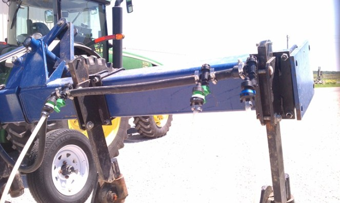Variable Rate Sidedress Applicator