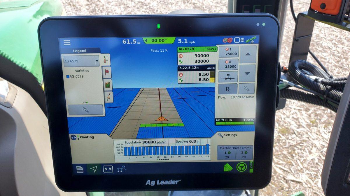 Corn Planter Monitor