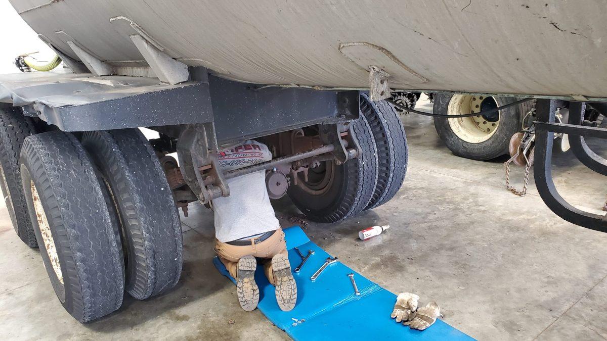 Evan Air Tank Repair