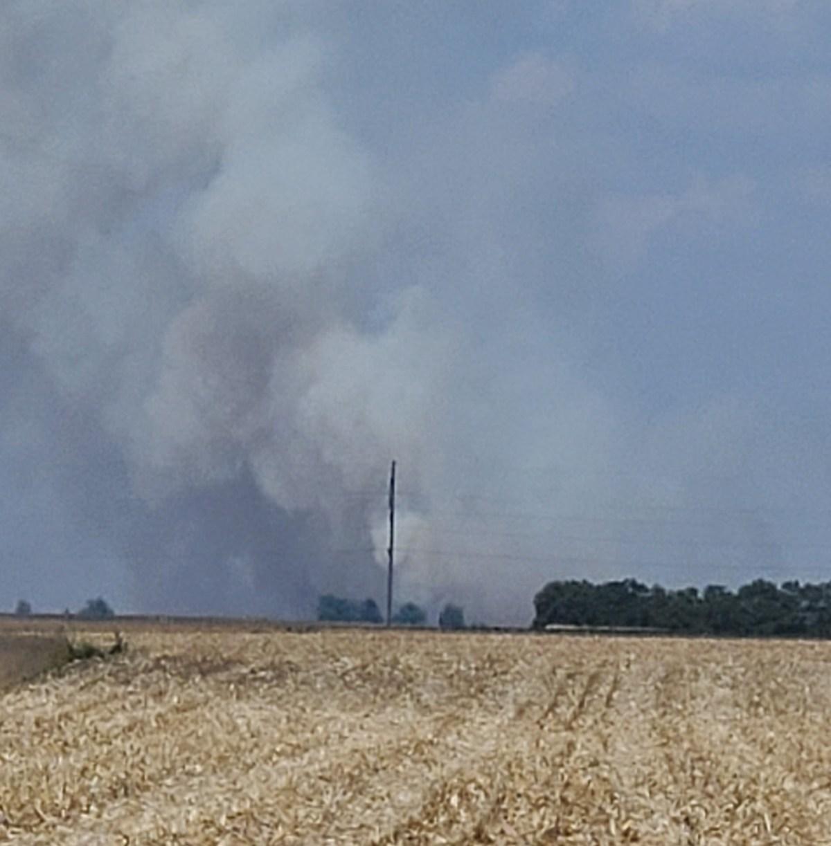 Bean Field Fire 2021