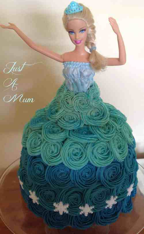 Princess Elsa Frozen Cake