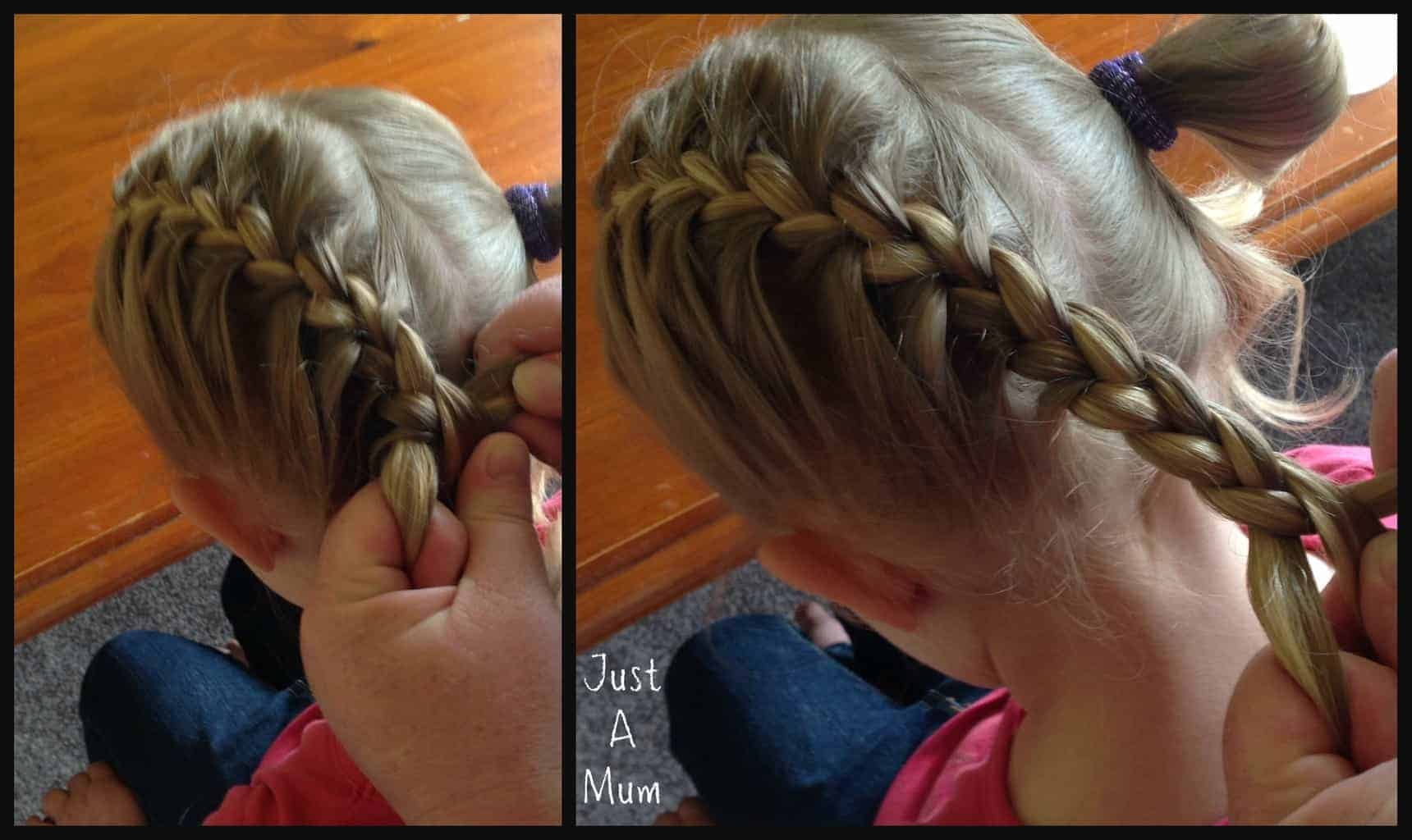 Once You Have Incorporated All The Hair Into The Braid Continue To Do A  Normal Plait