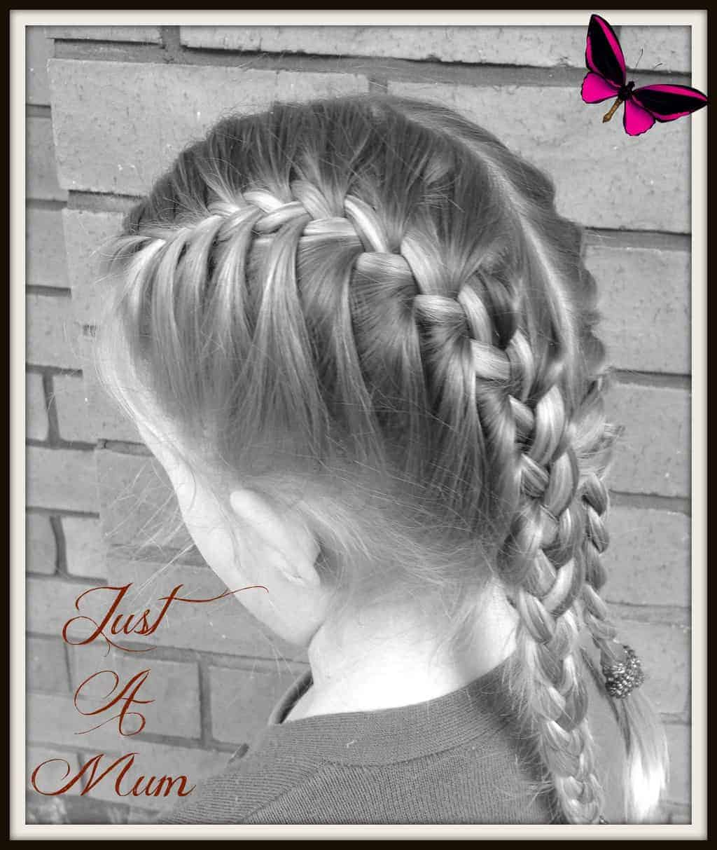 I Hope You Have Enjoyed This Tutorial On How To Do A French Braid €� And French  Braid Tutorial €� Just A Mum Hairstyles €� Just A Mum