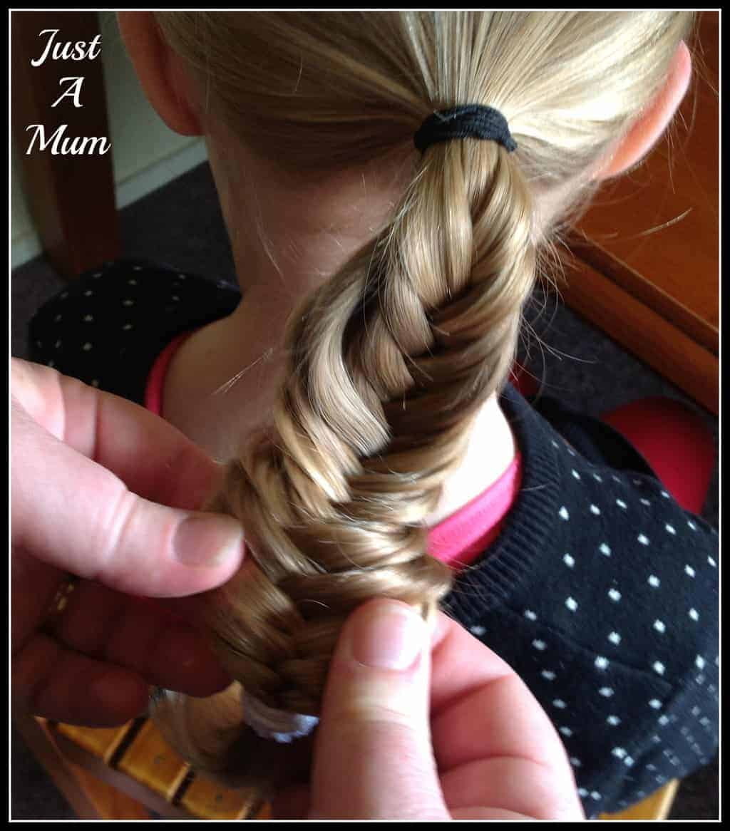 Miraculous Fishtail Braid Tutorial Just A Mum Hairstyle Inspiration Daily Dogsangcom