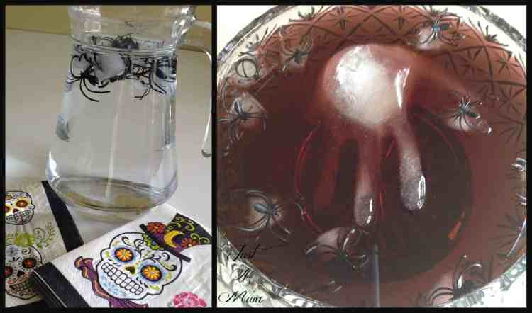 Halloween Ice Drinks