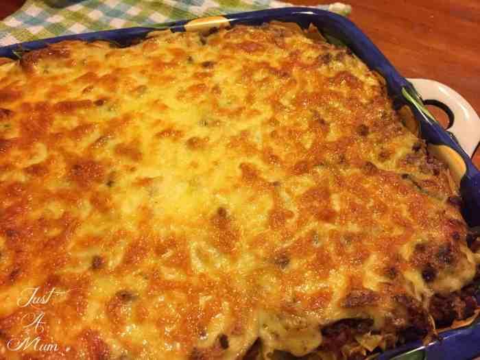 Just a Mums Lasagne 2