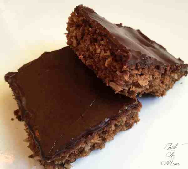 Just A Mums Chocolate Coconut Slice 3
