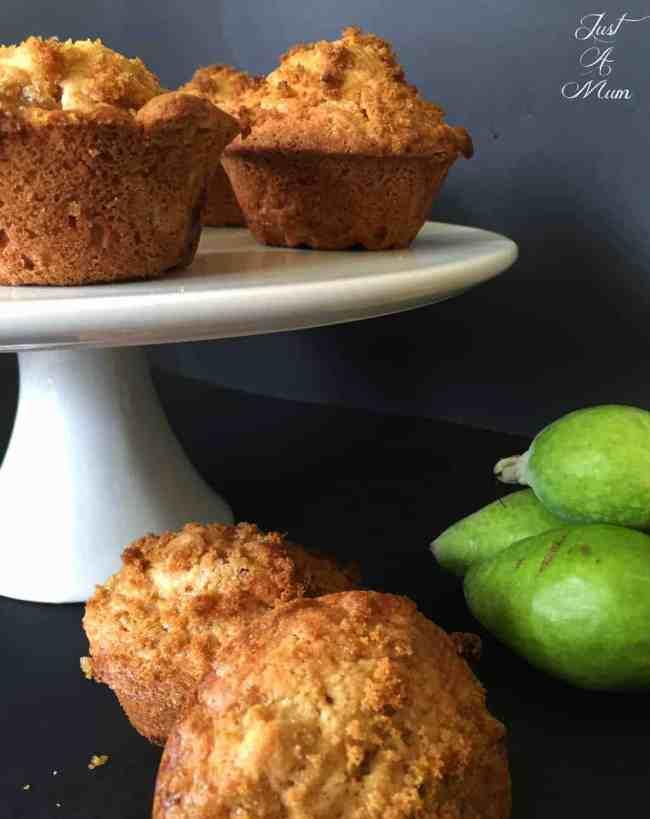 Feijoa Crunch Muffins 4