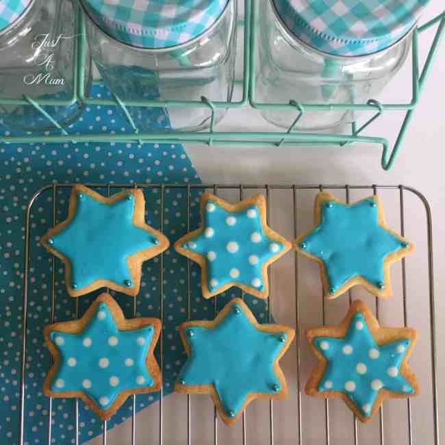 Just A Mum's Iced Cookies