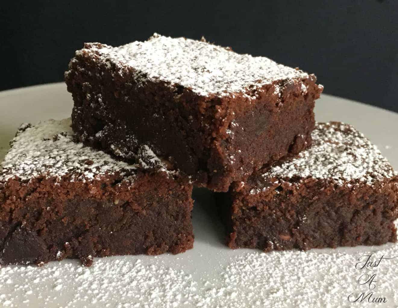 Cocoa Brownies Recipe Dishmaps