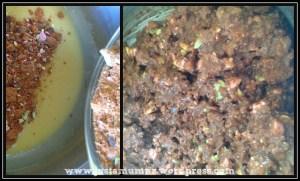 Chocolate Clinkers Slice 5