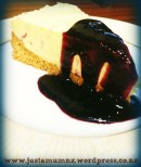 White Chocolate Cheesecake 1