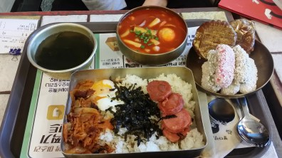 Dosirak, tteokbokki, and traditional sweets from Miss Lee Cafe