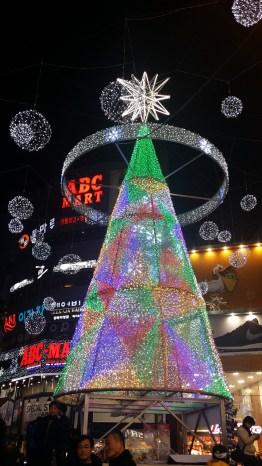 The Christmas Tree in BIFF Square