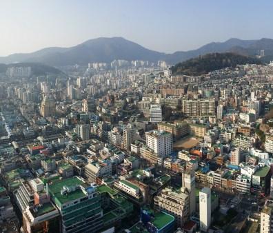 Views over Busan