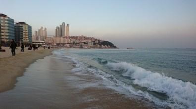 On Haeundae Beach