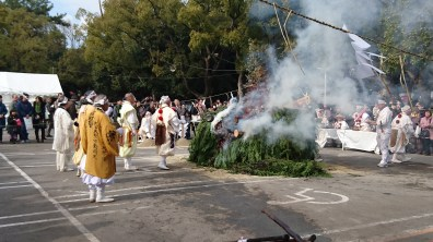 Priests and their blessing ceremony