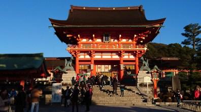 Main shrine in Fushimi Inari
