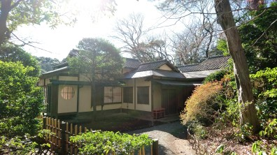 Tea House inside the Meiji Jingu Garden