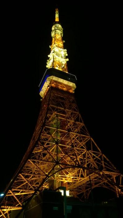 Tokyo Tower (aka orange Eiffel Tower)