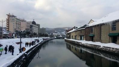 Otaru's canal!