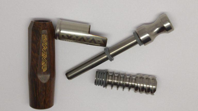 DynaVap NonaVonG with Titanium mouthpiece