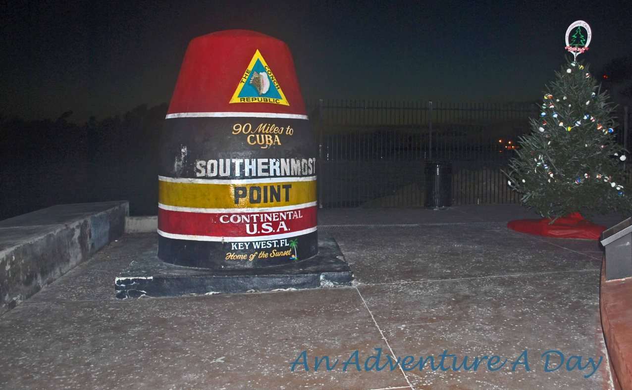 The Southernmost Point at Christmas