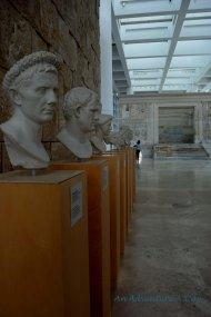 Busts of Romans