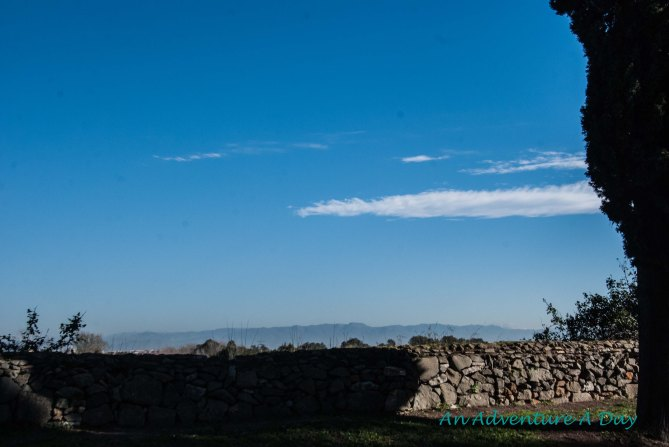 From the Appia Antica you have a beautiful view of the Lazio countryside.