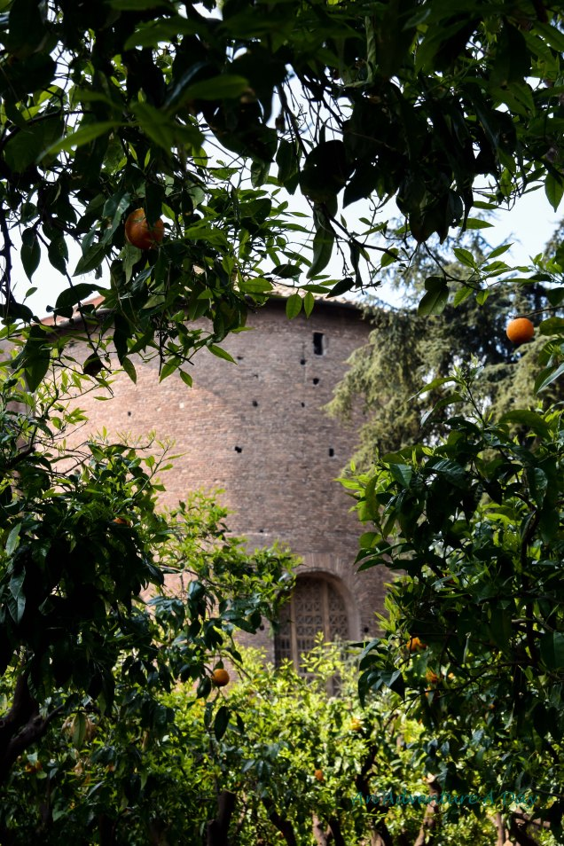 church through the oranges