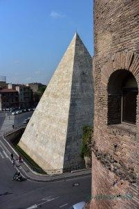 tower and pyramid