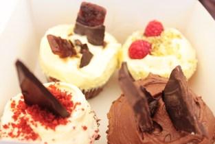 Our Pomp de Franc cupcakes